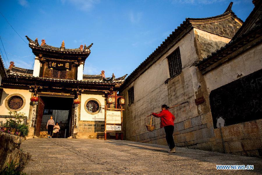 #CHINA-YUNNAN-HONGHE-TUANSHAN VILLAGE (CN)