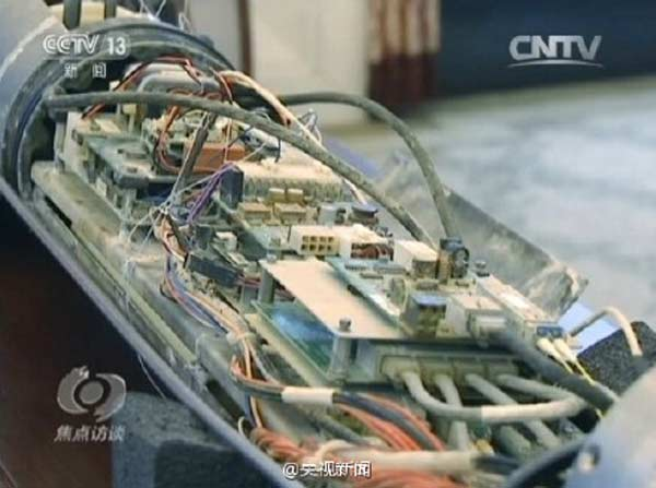 Fisherman nets a spy device in S China Sea