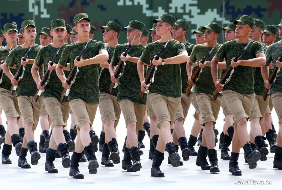 CHINA-BEIJING-FOREIGN TROOPS-PARADE TRAINING (CN)