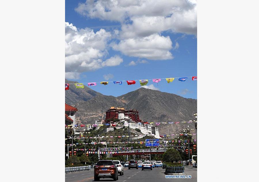 Lhasa prepares for 50th anniversary of Tibet autonomous region