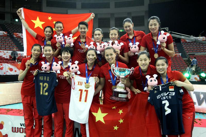 高清:中国女排捧起世界杯冠军 朱婷获最有价值球员--图片频道--人民网曼寧花茶