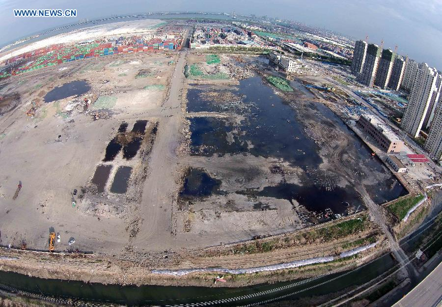 CHINA-TIANJIN-BLAST-AFTERMATH (CN)