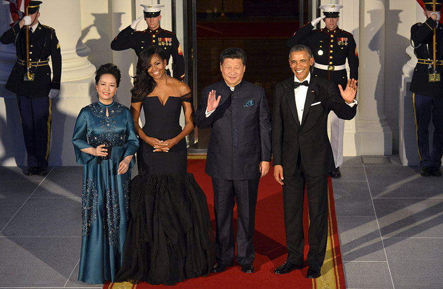 White House hosts state dinner for President Xi