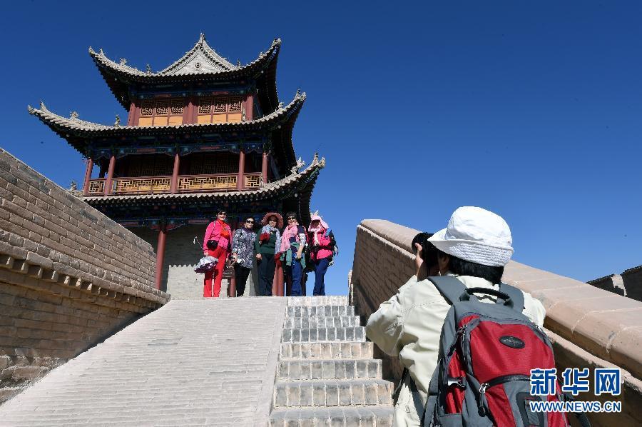 (文化)(2)世界文化遗产嘉峪关关城保护修缮基本完工