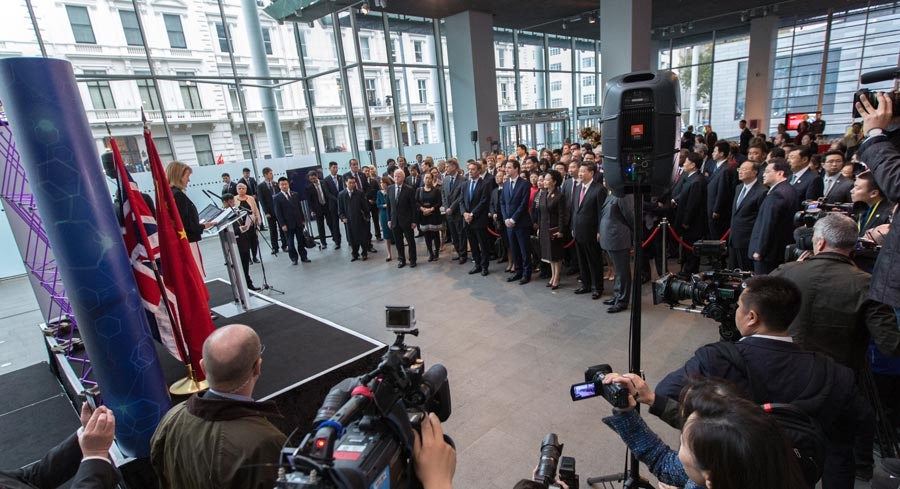President Xi visits Imperial College London