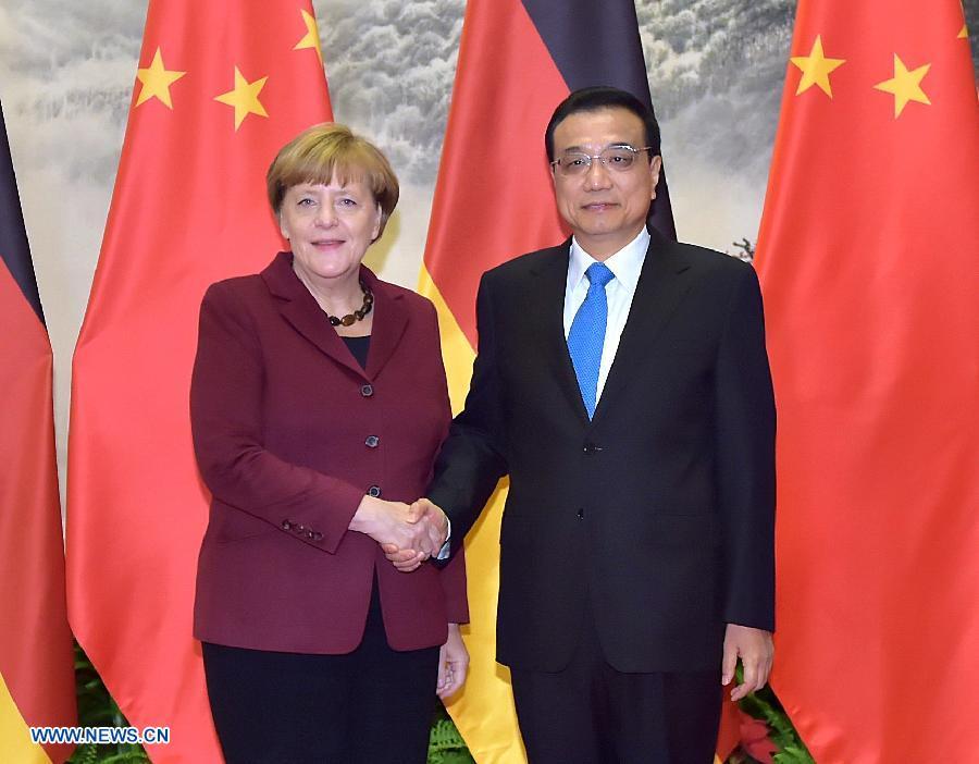 CHINA-GERMANY-LI KEQIANG-MERKEL-TALKS(CN)