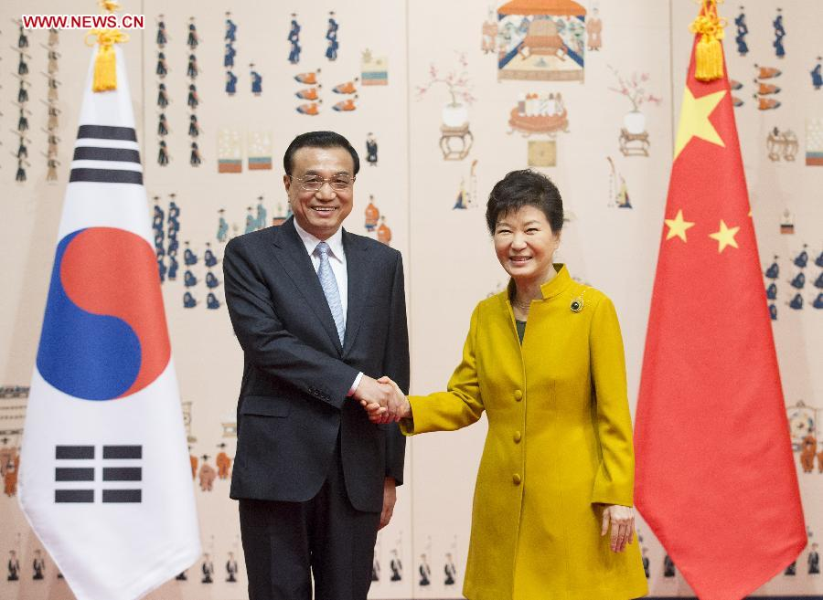 ROK-CHINA-LI KEQIANG-TALKS (CN)