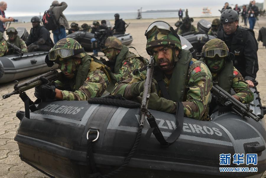 (国际)(1)北约在葡萄牙举行军事演习