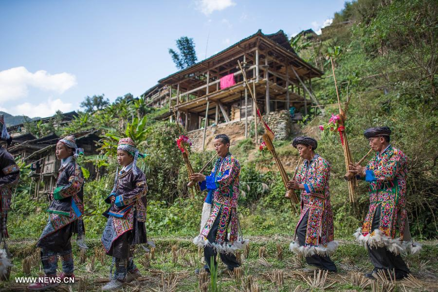 CHINA-GUIZHOU-MIAO PEOPLE-NEW YEAR CELEBRATION (CN)