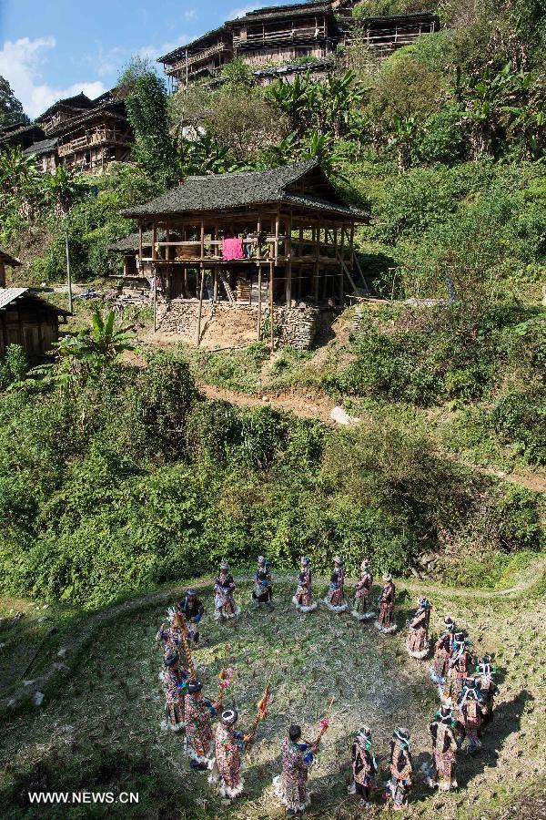 CHINA-GUIZHOU-MIAO PEOPLE-NEW YEAR CELEBRATION (CN)