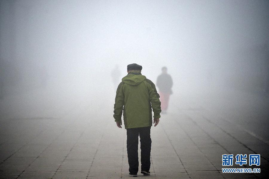 (生态)(1)浓雾扰宁夏