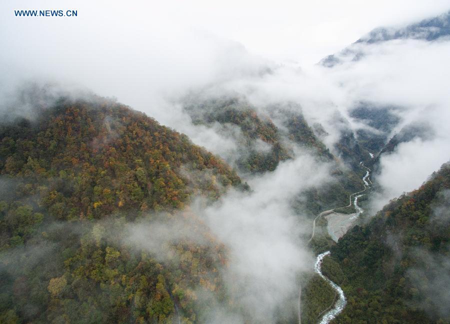CHINA-SICHUAN-BAOXING-SCENERY (CN)