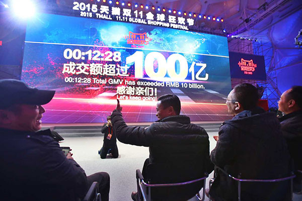 Record-breaking sale: Alibaba sells $1.6b goods in just 12 minutes
