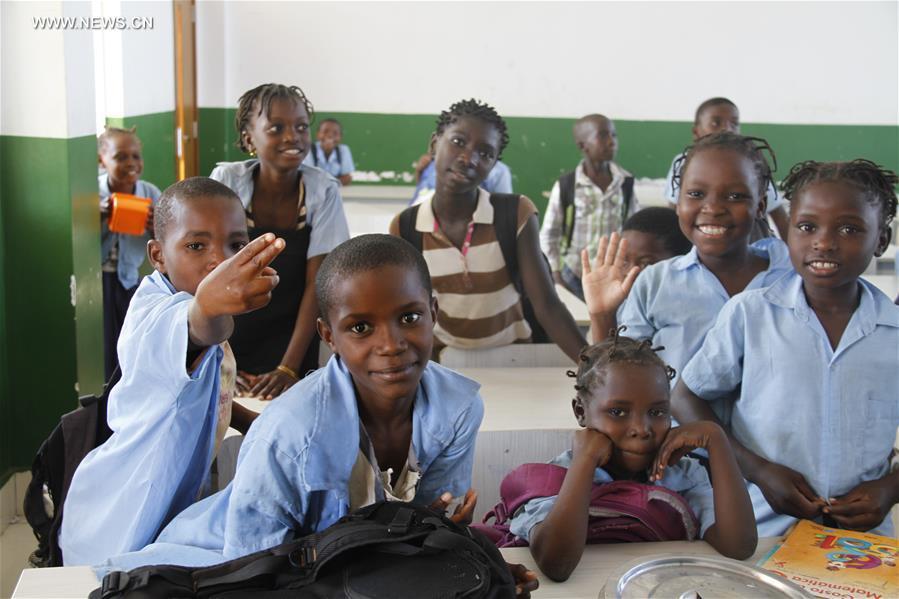 MOZAMBIQUE-CABO DELGADO-CHINA-FRIENDSHIP SCHOOL