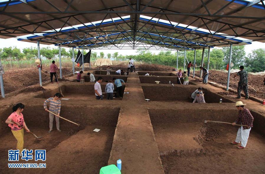 (图文互动)(1)考古确认陕西龙岗寺遗址100万年前就有人类活动