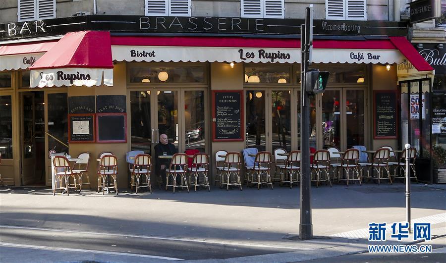 (国际)(1)巴黎恐怖袭击之后的街头