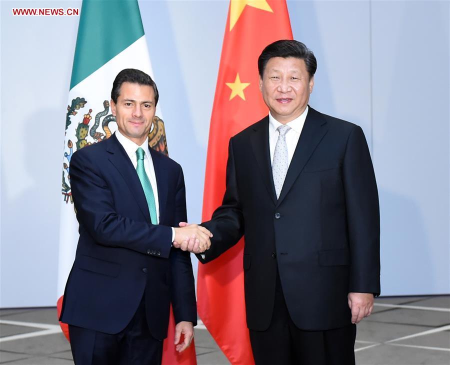 TURKEY-ANTALYA-CHINA-XI JINPING-MEXICAN PRESIDENT-MEETING