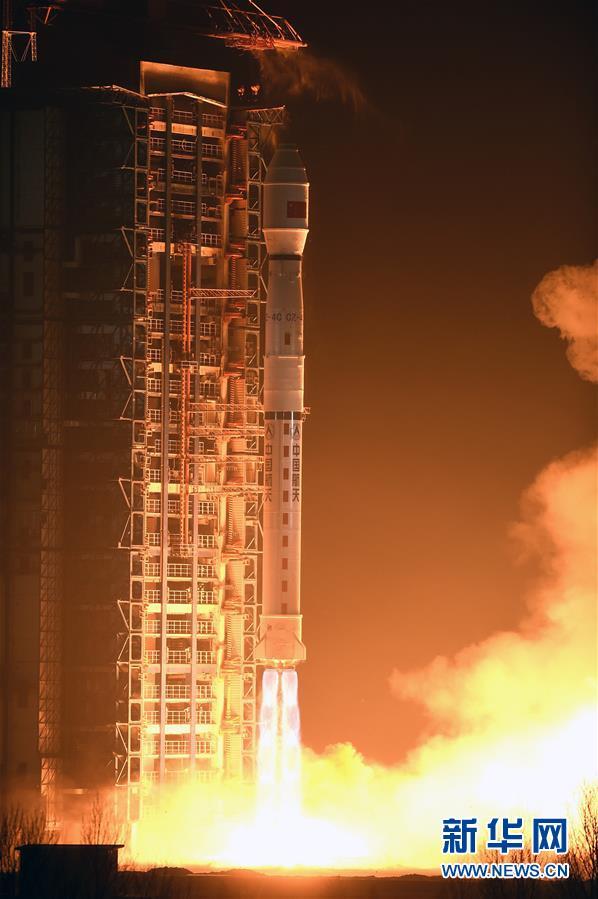 (新华直击)(2)我国成功发射遥感二十九号卫星