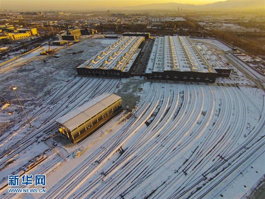 (社会)(1)北京占地面积最大地铁车辆段建成