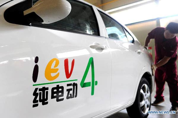 China to become world's No 1 electric car market