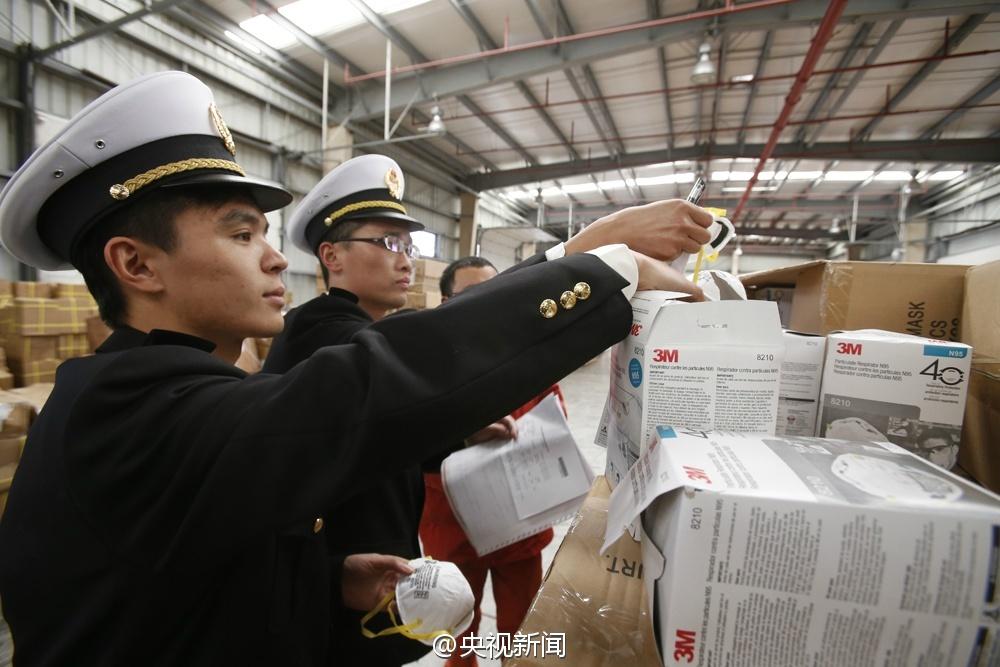 上海海关查获近12万只假冒3M口罩