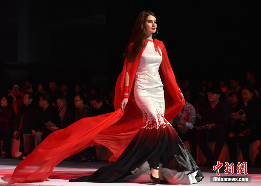 47900513d567 Milan Fashion Week 2015 China Tour in SW China - People's Daily Online