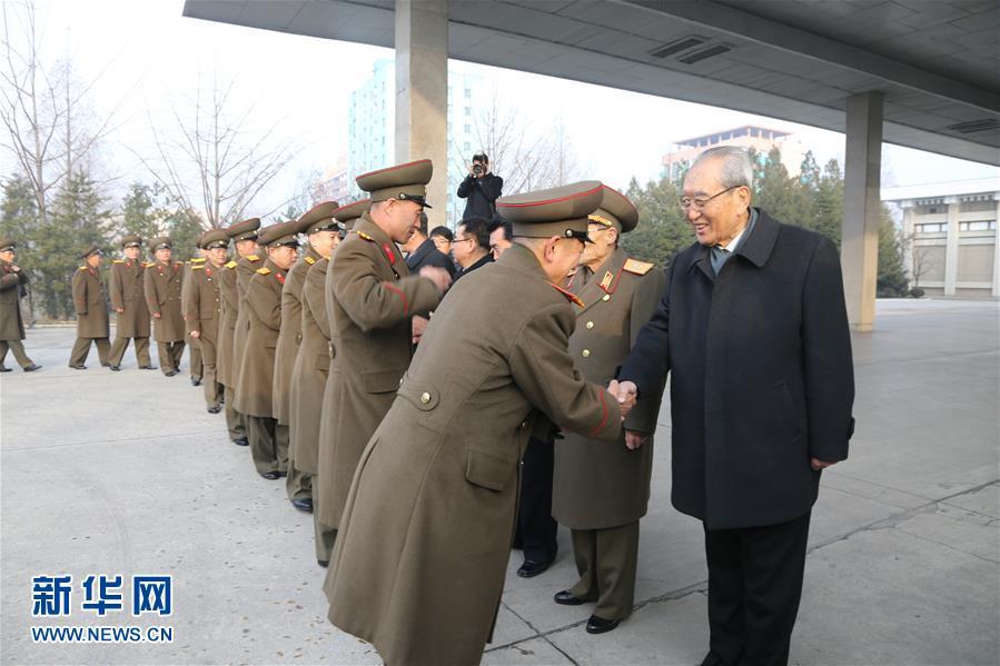 (XHDW)(2)朝鲜功勋国家合唱团和牡丹峰乐团启程访华