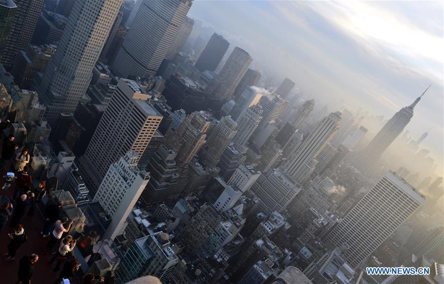 U.S.-NEW YORK-WEATHER-FOG