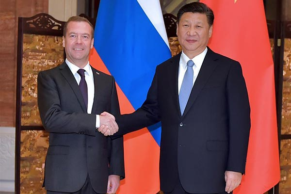 China to coordinate transcontinental trade initiatives with Russia