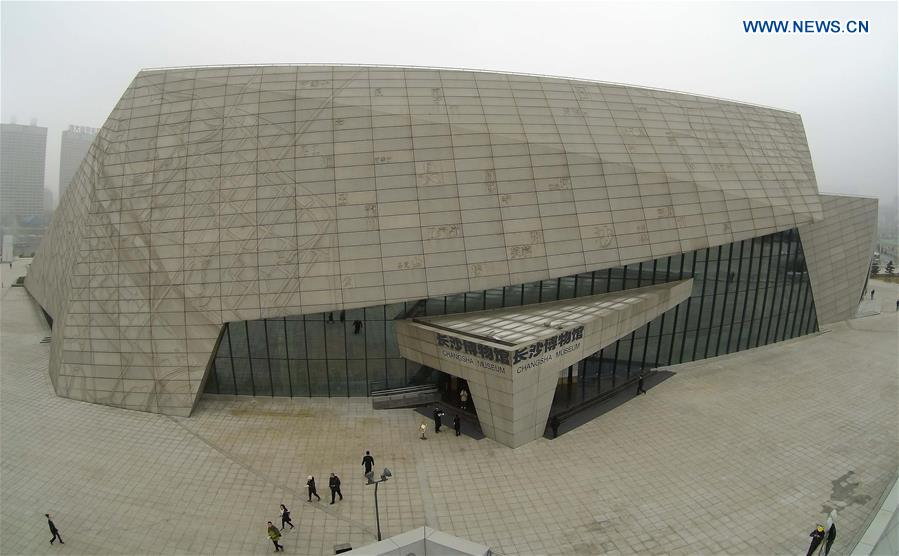 CHINA-CHANGSHA-MUSEUM-OPEN(CN)