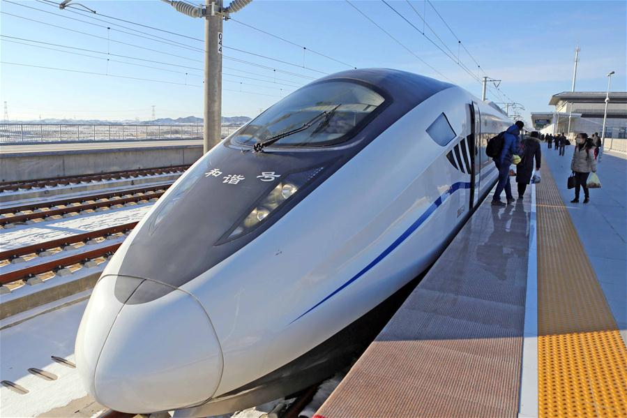 #CHINA-HAMI-HIGH SPEED RAILWAY-ANNIVERSARY(CN)