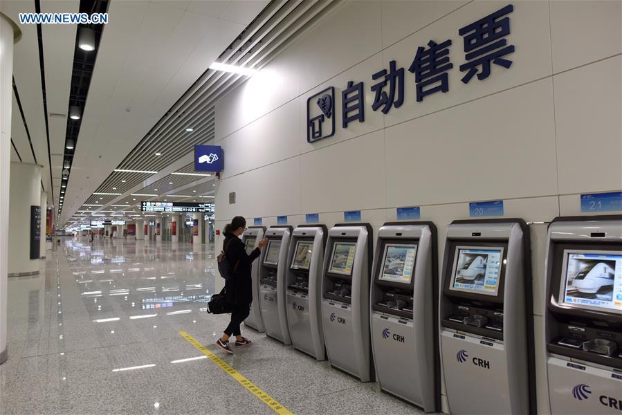 CHINA-SHENZHEN-ASIA'S LARGEST UNDERGROUND RAILWAY STATION-OPEN(CN)