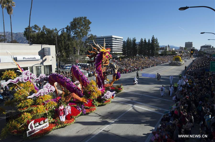 U.S.-LOS ANGELES-ROSE PARADE