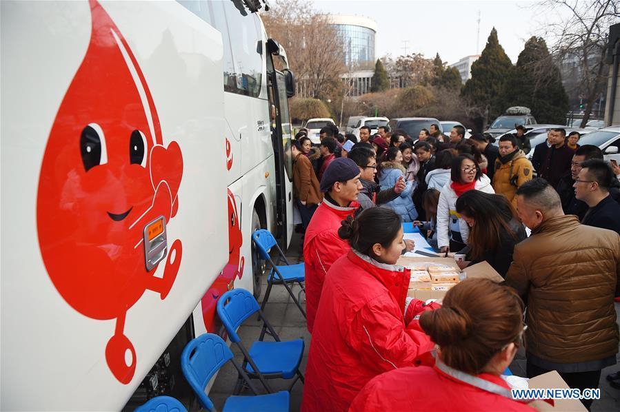 CHINA-YINCHUAN-BUS ARSON-BLOOD DONATION (CN)