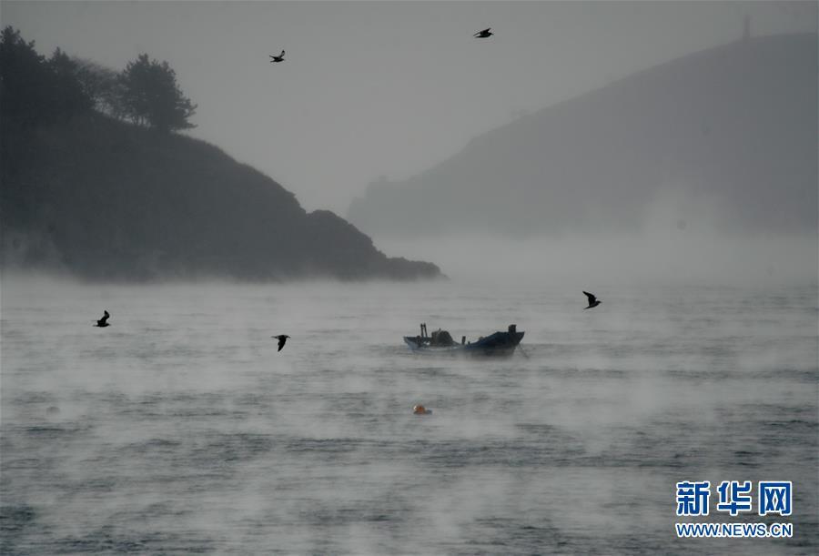 """#(视・觉)(3)大连海域出现""""浩气""""奇观"""