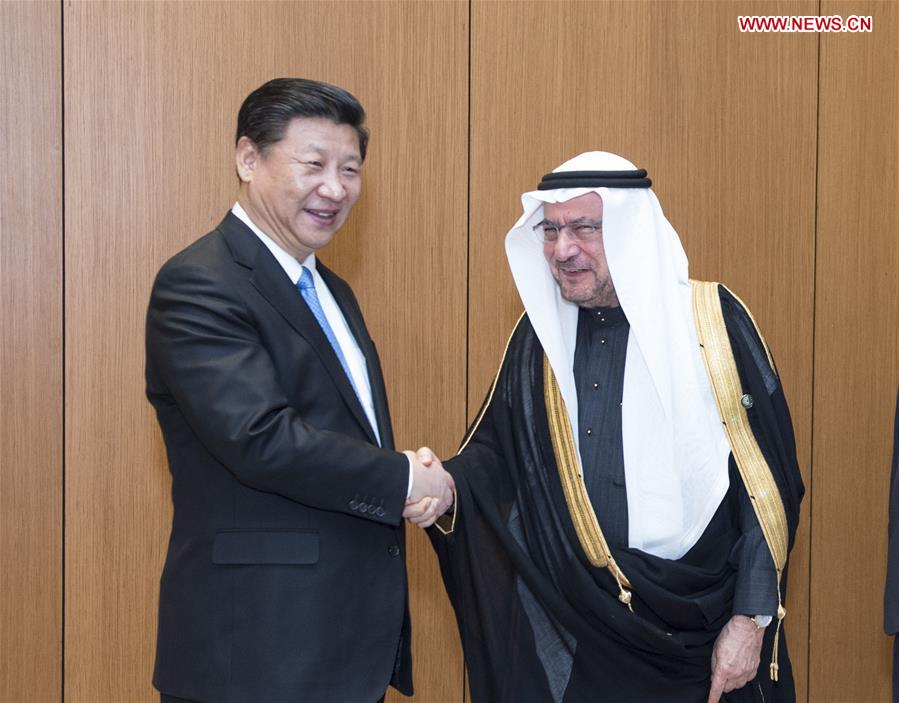 Xi arrived here on Tuesday for a state visit to Saudi Arabia, the first stop of his three-nation tour of the Middle East