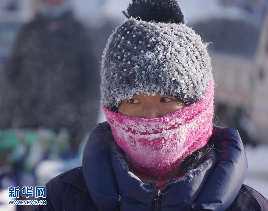 (生态)(4)内蒙古根河市现-47.8℃极寒天气