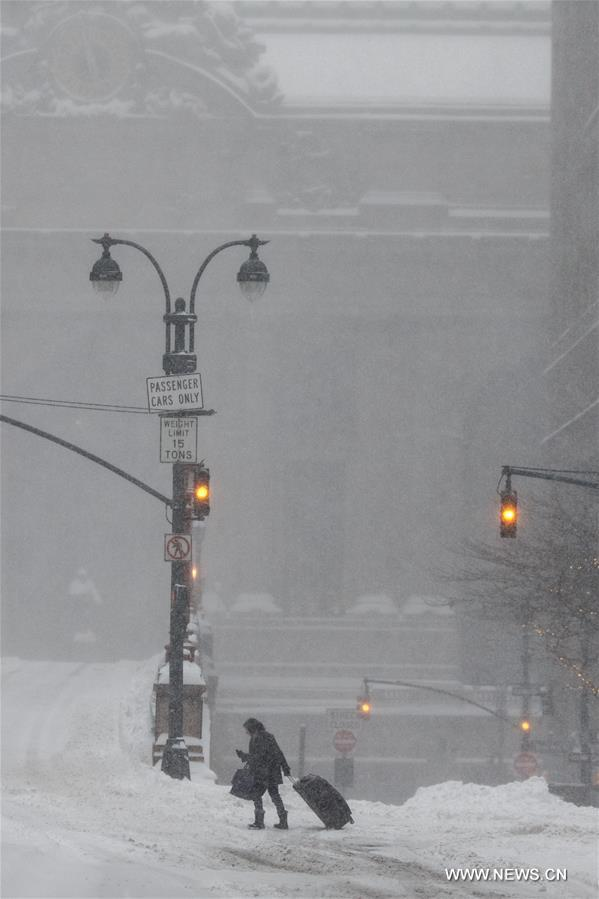 The New York metropolitan region is being pummeled by a massive blizzard, forcing Gov. Andrew Cuomo to issue a travel ban that impacts roads and railways