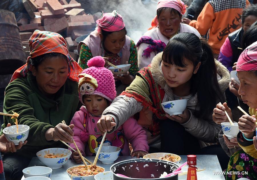 CHINA-YUNNAN-YI ETHNIC GROUP-DAILY LIFE (CN)