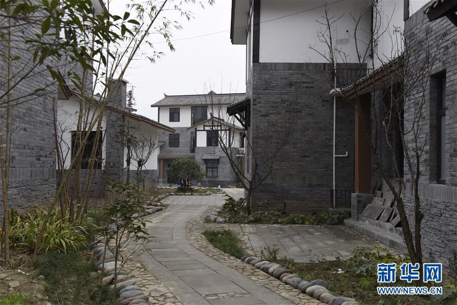 (社会)(2)芦山地震灾区:重建项目完工逾九成