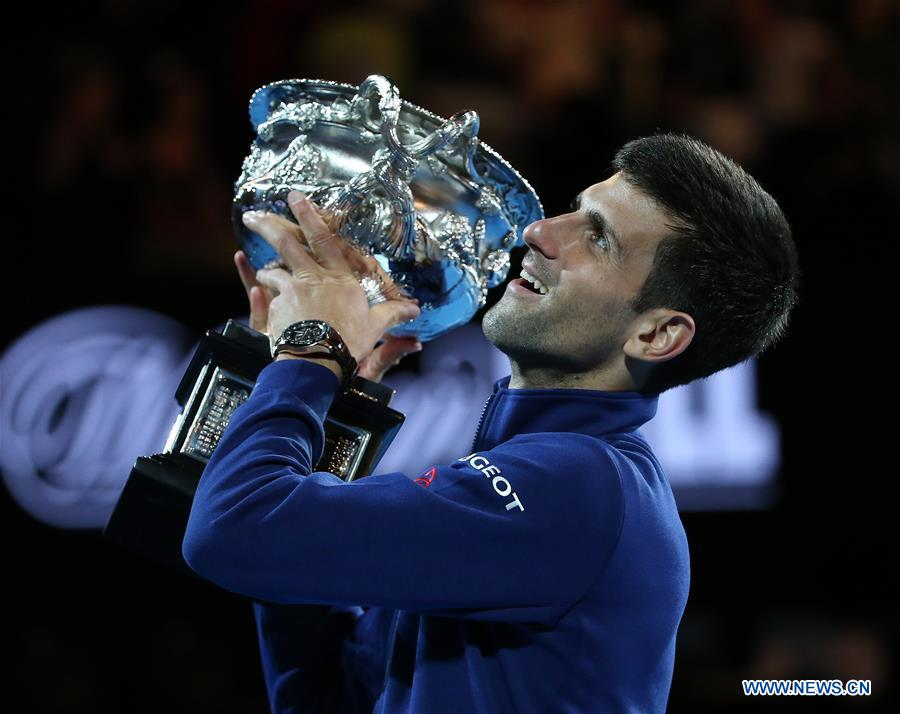 (SP)AUSTRALIA-MELBOURNE-TENNIS-AUSTRALIAN OPEN-MEN'S SINGLES-FINAL