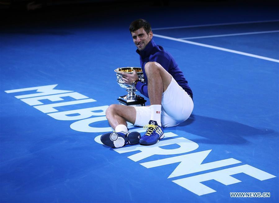 (SP)AUSTRALIA-MELBOURNE-TENNIS-AUSTRALIAN OPEN-MEN'S SINGLES-FINAL