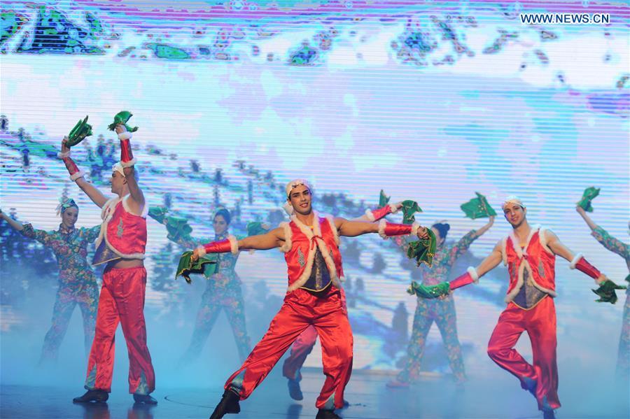 CHINA-HEILONGJIANG-CUBAN ACTORS-YANGKO (CN)