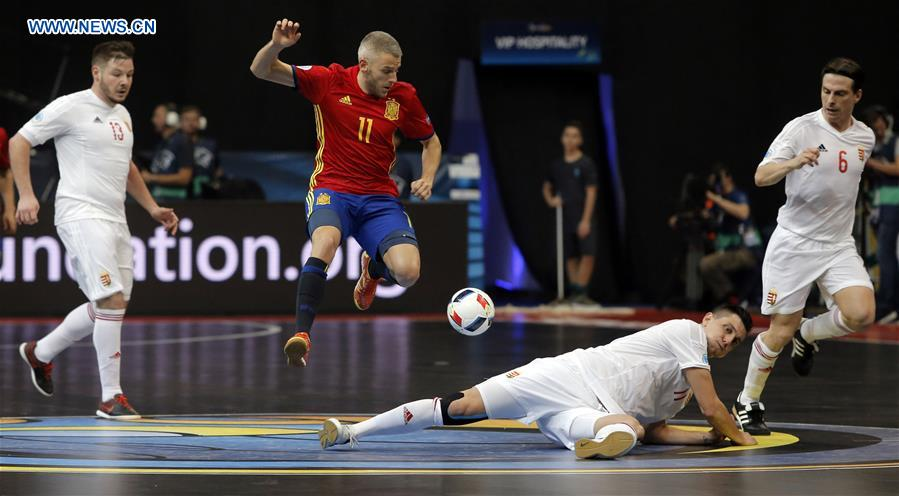 Highlights of UEFA Euro 2016 Championship futsal game (8) - People s Daily  Online af721845caf0e