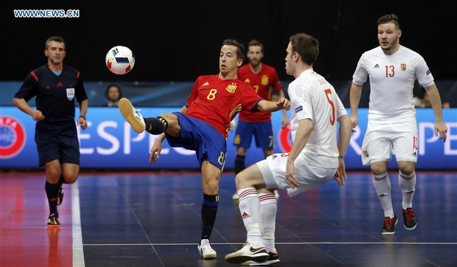 Highlights of UEFA Euro 2016 Championship futsal game (10 ... 932c26682c7f4