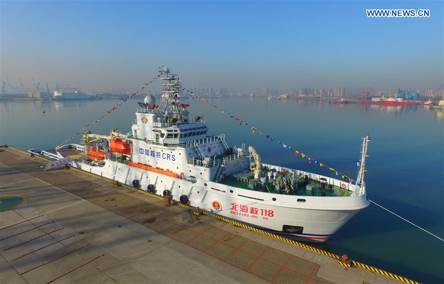 CHINA-SHANDONG-YANTAI-RESCUE VESSEL(CN)