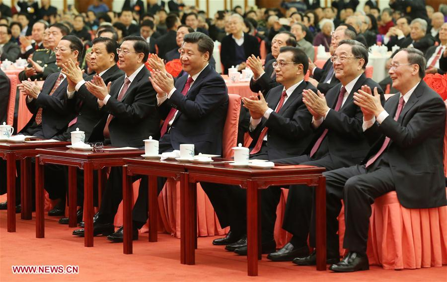 CHINA-BEIJING-TOP CHINESE LEADERS-RECEPTION (CN)