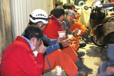 台湾地震已致40人遇难 仍有逾百人失联