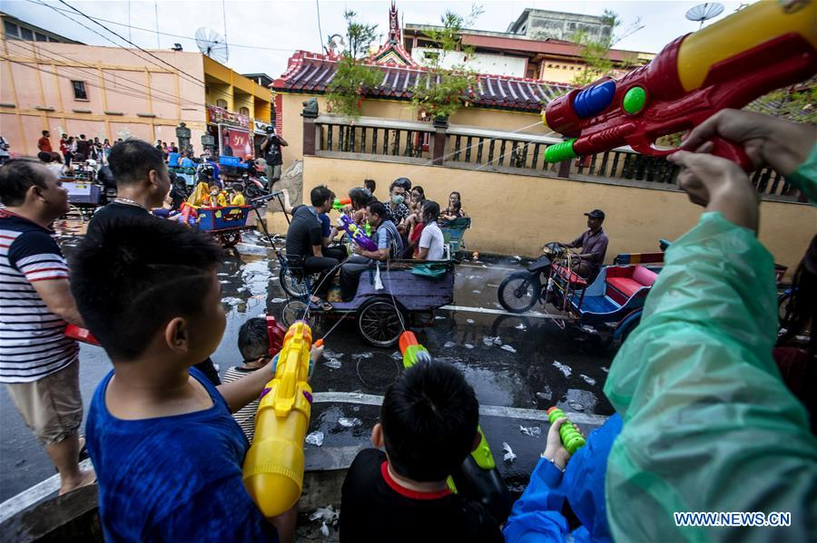 INDONESIA-RIAU-WATER SPLASHING FESTIVAL