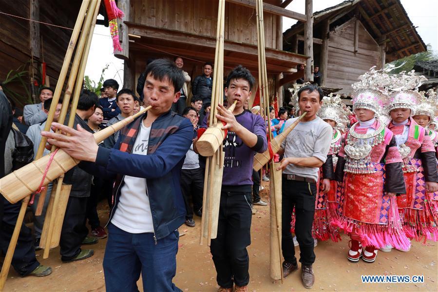 #CHINA-GUIZHOU-QIANDONGNAN-SPRING FESTIVAL CELEBRATION (CN)